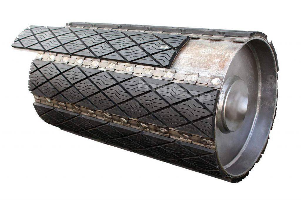 Slide-lag en caoutchouc sur tambour