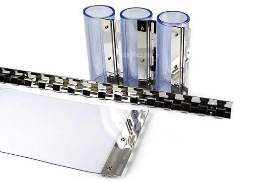 Kit rideau à lanières easy clip amovible