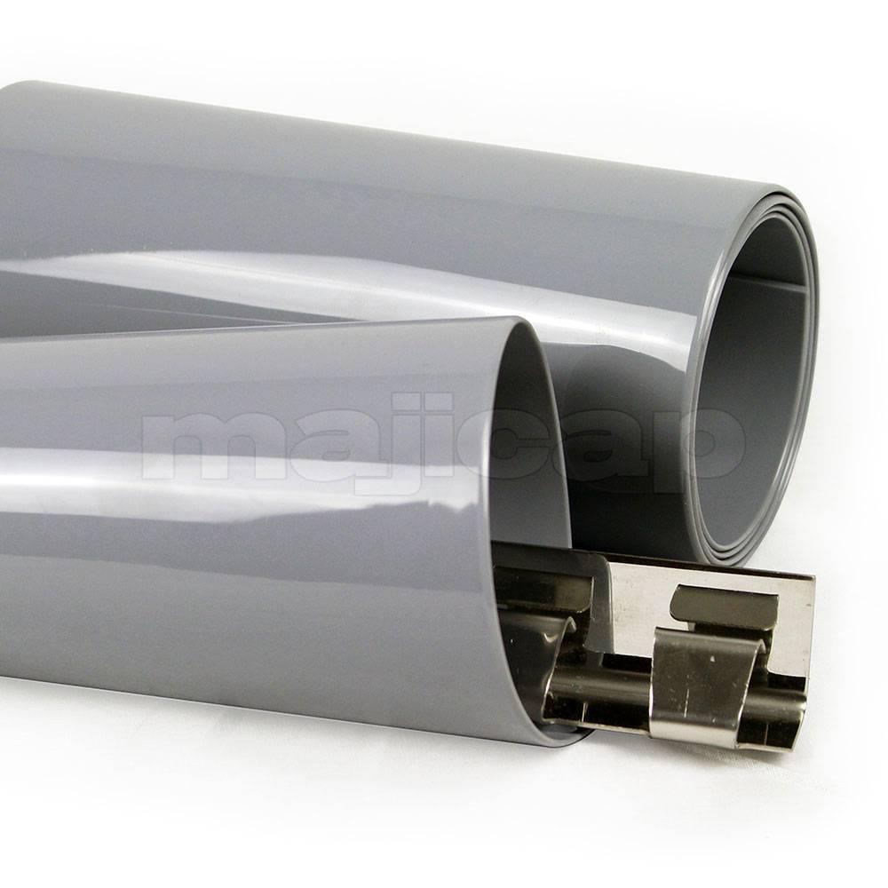 plastique souple opaque gris