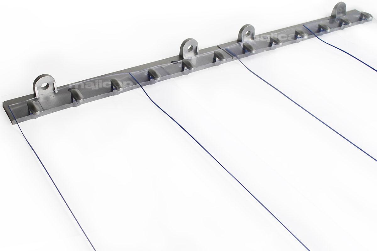 Porte à lanières PVC fixe