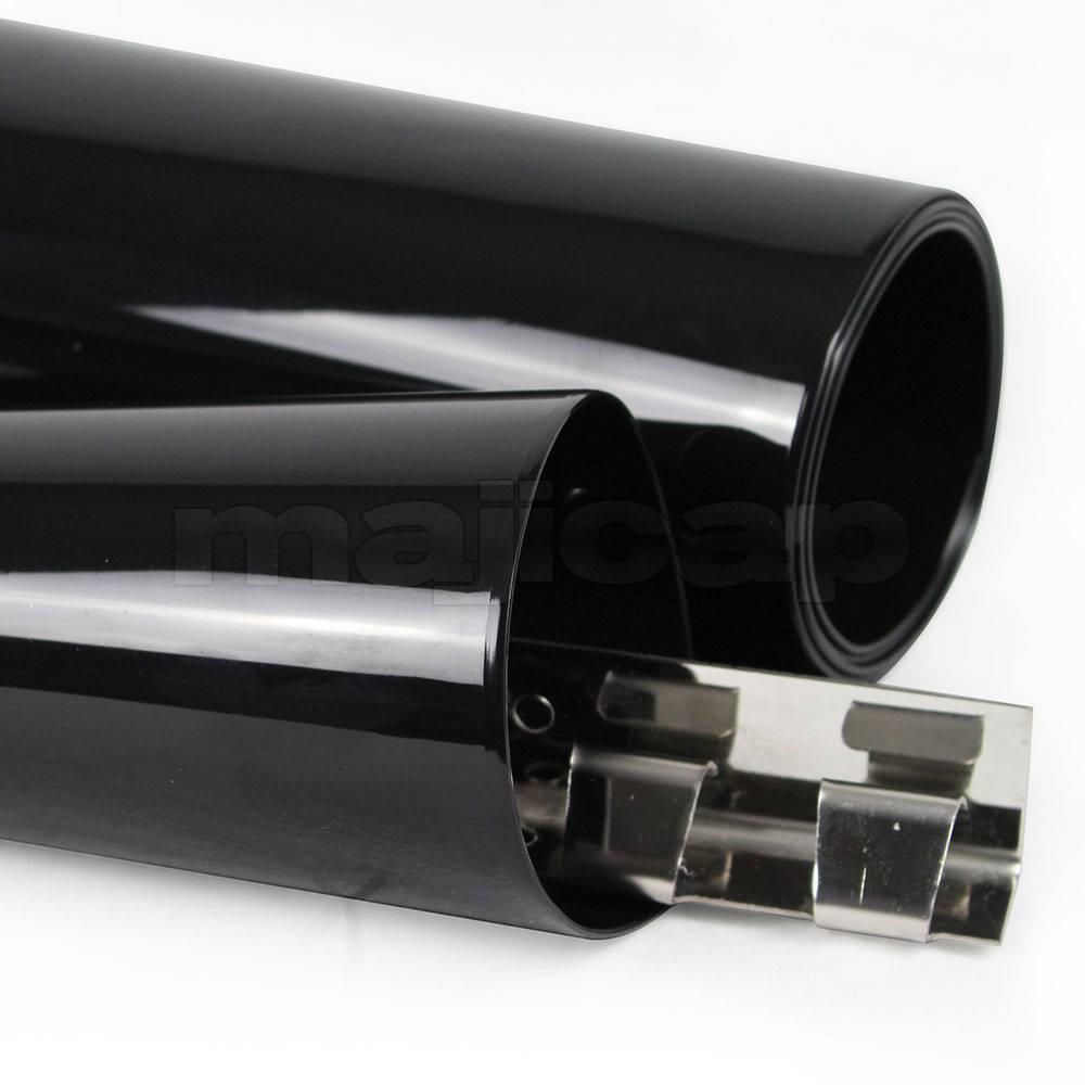 pvc souple opaque noir