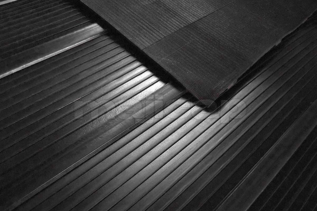 Tapis de Hayon installé sur une rampe